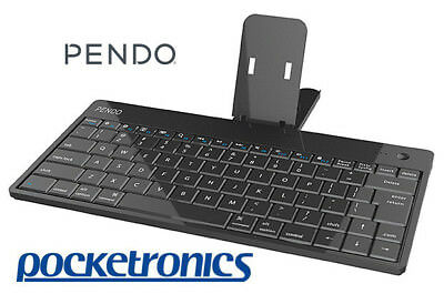 Pendo Bluetooth Keyboard Black lightweight for Android Tablet PC Apple iPad NEW