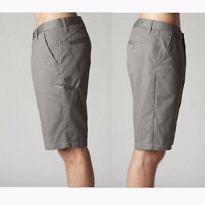 Fox Racing Mens ESSEX SHORT Chino Walk Short Casual Bottoms Shorts Size 30-40