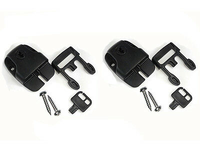 2pcs Spa Hot Tub Cover Broken Latch Repair Kit Clip Lock with key and hardware