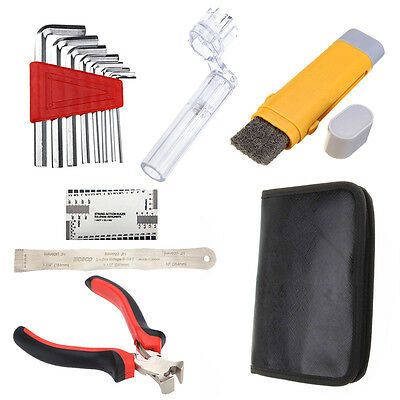 1 Set Universal Professional Guitar Care Tool Set Repair Maintenance Tech Kit
