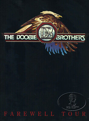 DOOBIE BROTHERS 1982 FAREWELL TOUR Concert Program ProgrammeBook
