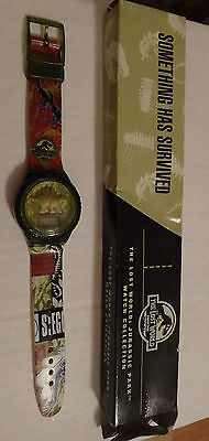 1997 Jurassic Park Lost World SOMETHING HAS SURVIVED Burger King Watch Promo