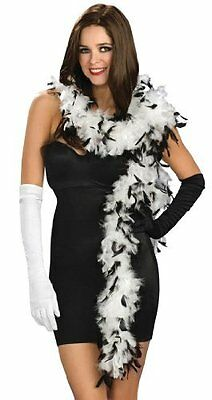 Black & White Feather Boas