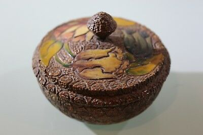 Chinese Carved Box, Hand Painted Carved Flowers BEAUTIFUL Oriental Box, Tulips