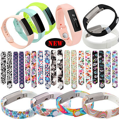 Silicone Fashion Replacement Wrist Band Strap For Fitbit Alta Size Small/Large