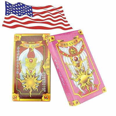 Free Shipping Two Sets 52+54 Hope Cosplay Card Captor Sakura Clow Cards