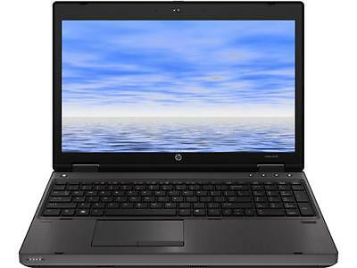 "HP 6570B 15.6"" Grade B Laptop Intel Core i5 3rd Gen 3320M (2.60 GHz) 250 GB HDD"