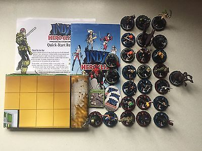 Indy Heroclix Massive 26 Figure Bundle (#1) 2000AD Starter MageKnight  Fast Post