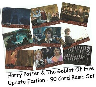 Harry Potter & The Goblet Of Fire Update  - 90 Card Basic/Base Set #91-180 2006