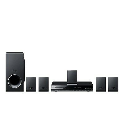 Sony DAV-TZ140 DVD Home Cinema System (5.1 Channel Surround Sound and USB Con...