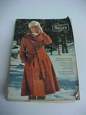 old sears canada catalog fall and winter 1975 good reference