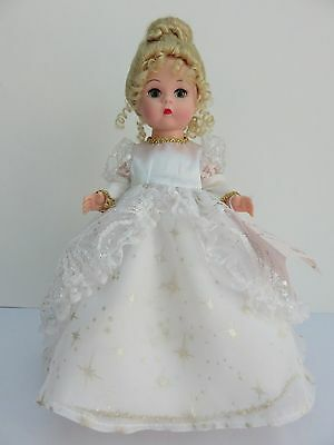 """2002 Madame Alexander 8"""" Star Light Doll Style 35355 ~ Lovely White Dress Outfit"""