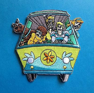 Scooby Doo Mystery Machine Iron On Embroidered Hat Jacket Hoodie Patch Crest E