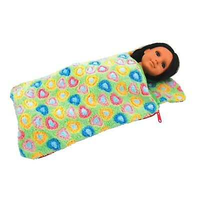 "18"" Doll GREEN SLEEPING BAG Fits American Girl Furniture,Clothing & Accessories"