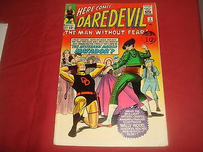 DAREDEVIL #5  1st Matador Silver Age Marvel Comics 1964 Low Grade GD Cheap!