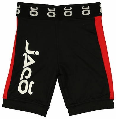 Jaco Vale Tudo Long Fight Shorts (Black/Red)