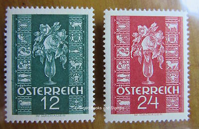 EBS Austria Österreich 1937 Christmas Greetings Stamp set of 2 658-659 MNH**