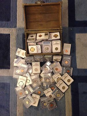 ✯Sale✯Estate Sale Old Us Coin ✯ Pcgs Ngc Graded ✯1 Slab Lot✯ Gold ✯ Grade 64+✯