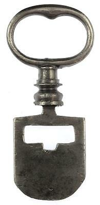 18th/19th Century BLANK Odell Steel Latch Key RARE - Edinburgh Tenement - Ref.47