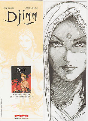 "Ana Miralles: marque-pages "" Djinn"""