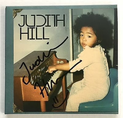 Judith Hill Signed Back In Time CD Proof