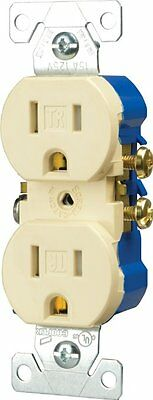 100Pc Duplex Wall Tamper Resistant Outlet Eaton 15-Amp 125V Almond Indoor TR270A