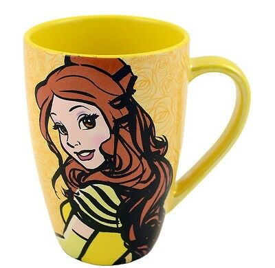 Belle Mornings Are a Beast Mug Coffee Tea Cup Disney World Theme Parks NEW