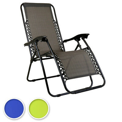 Bentley Explorer Foldable Reclining Garden Chair Camping Recliner Lounger