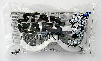Rogue One A Star Wars Story 3D Glasses Stormtrooper White - NEW Sealed Bag BNIP