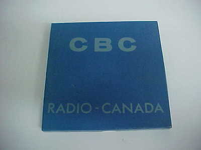 great item for your cbc collection cbc radio canada reel to reel program school