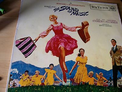 Rodgers And Hammerstein - THE SOUND OF MUSIC LP with booklet VG