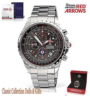 Official Red Arrows Hawk T1 Limited Edition Chronograph Watch -New-In Stock Now!