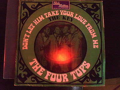 The Four Tops - Dont Let Him Take Your Love -- / The Key - French Ps 45