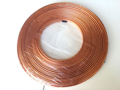 Ф4mm OD 10 FT MICROBORE COPPER LUBRICATION PLUMBING PIPE TUBING TUBE COIL Showa