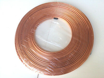 Ф4mm OD 5 FT MICROBORE COPPER LUBRICATION PLUMBING PIPE TUBING TUBE COIL Showa