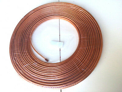 Ф6mm OD 5 FT MICROBORE COPPER LUBRICATION PLUMBING PIPE TUBING TUBE COIL Showa