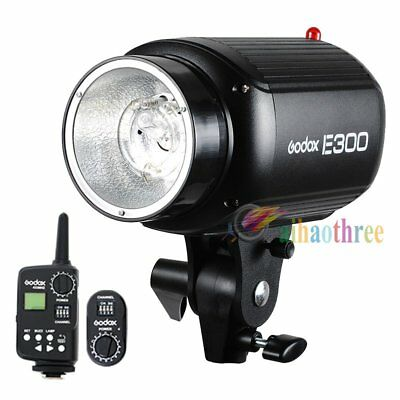 Godox E300 300W Studio Strobe Flash Light Head + FT-16 Trigger Wireless Control