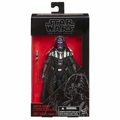 Star Wars The Black Series 6 inch Darth Vader Emperor's Wrath Action Figure