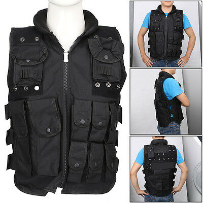 Tactical Vest Camouflage Military Body Armor Outdoor Sports Wear Hunting Vest