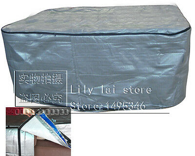 hot tub cover bag with isolation, 200x200x90cm/2070x2070x900 mm,213x213x90cm