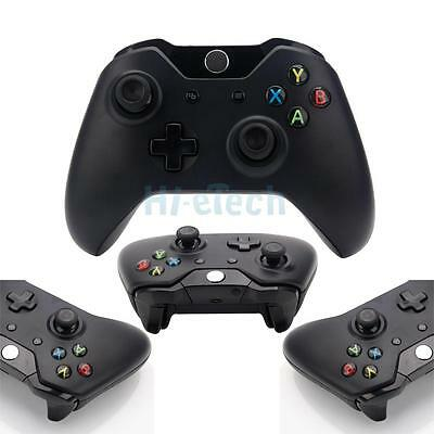 New Black Wireless Controller With Stereo Headset Jack for Microsoft Xbox One HK