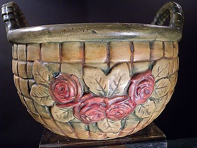 Weller Rose Pot Basket  From Nature Series (New Lower Price)