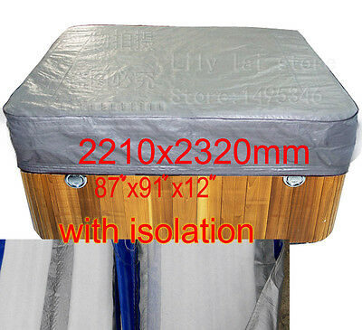 """free shipping spa cover bag with isolation, size2210x2320x300 mm 87""""x 91""""x 12 in"""
