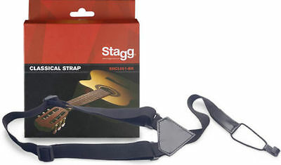 Stagg Classical Guitar and Ukulele Sound Hole Strap  FREE P+P