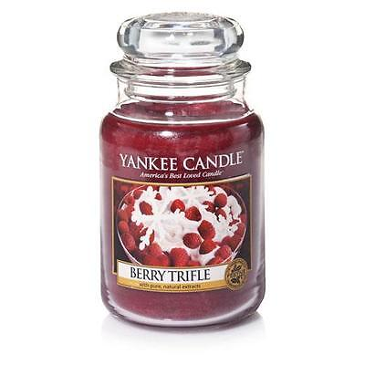 Yankee Candle Berry Trifle Large Jar FREE P&P
