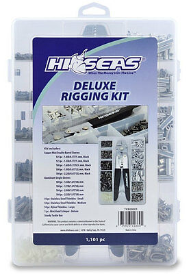 Hi-Seas TKB00003 Deluxe Rigging Kit 1101 Pieces