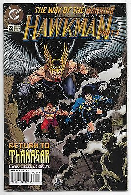Hawkman #22 DC Comics July 1995 #cb9010