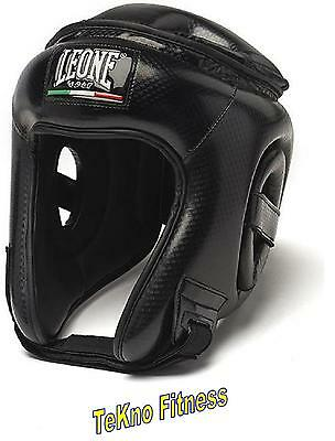 Casco Leone 1947 Carbon Cs411 Kick Boxing Mma Muay Thai Boxe Pugilato Caschetto