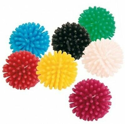 Pack Of 7 Hedgehog Ball For Cats. Cats Are Addicted To Playing With These (3 Cm)