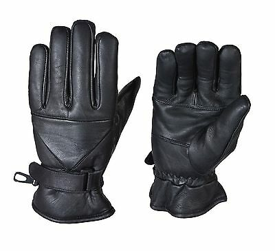 Thermal Winter Summer Motorbike Motorcycle Leather Gloves Waterproof Protection